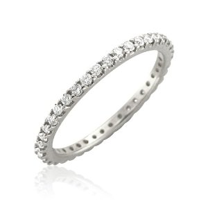 Godl diamond eternity ring